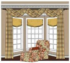 Kitchen Curtain Ideas With Blinds bay window ideas amp tips on pinterest bay windows bay