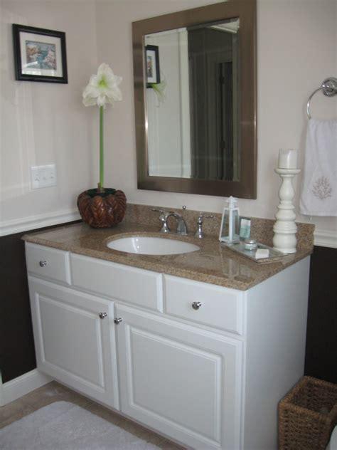 door abode shared family bath chair rail