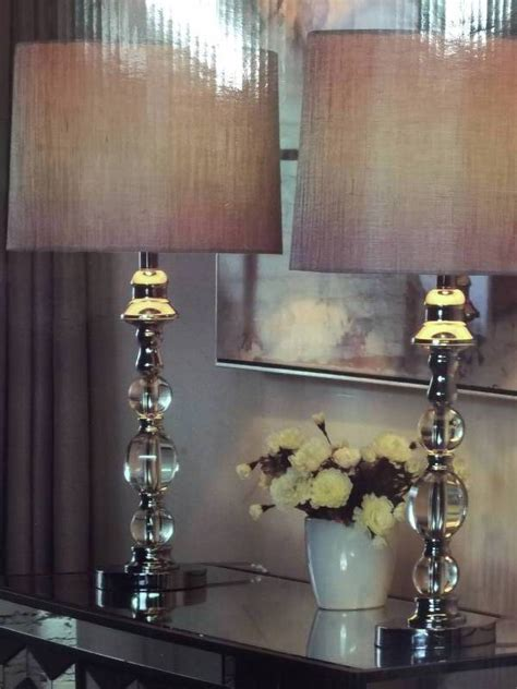 Stylecraft Marmonde Crystal Table Lamps  Pack  Kx