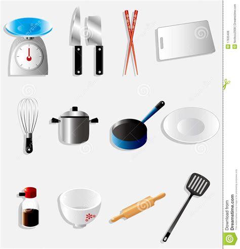 cartoon kitchen icon stock vector illustration  fork
