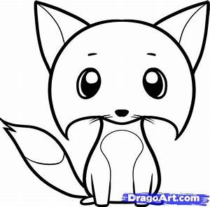 How to Draw a Fox for Kids, Step by Step, Animals For Kids ...