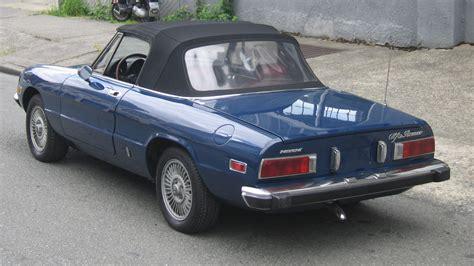 1974 Alfa Romeo Spider by 1974 Alfa Romeo Spider Veloce T29 Monterey 2011