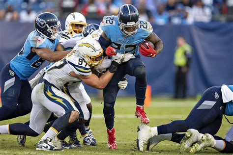 los angeles chargers studs  duds  titans  week