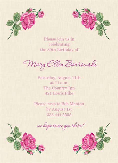 quotes   birthday invitation quotesgram