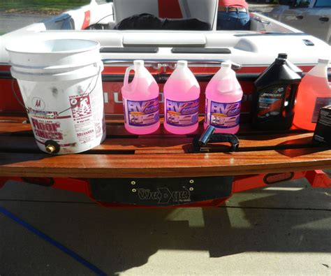 Winterize Boat Mercruiser by How To Winterize A Boat 3