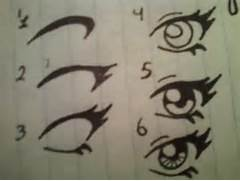 Anime eyes for beginners by LadyLaveen on DeviantArt  Easy Anime Drawings For Beginners Step By Step