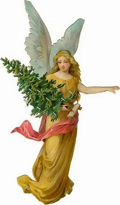 Christmas Clip Victorian Clipart Angels Angel Graphics