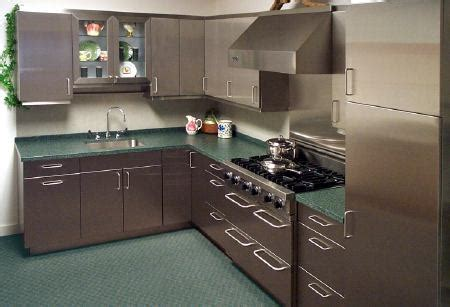 Stainless steel kitchen cabinets, cabinet doors and