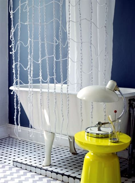 Shower curtain and decorate it nicely ? original ideas for