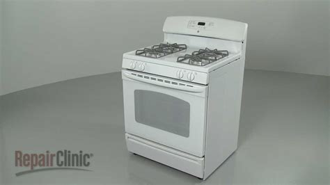 ge gas oven disassembly range repair  youtube