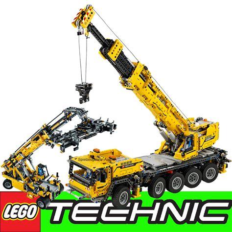 lego technic schwerlastkran lego technic 42009 mobiler schwerlastkran gratis duracell mobile crane mk ii ebay