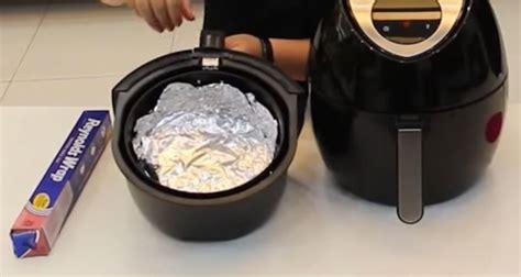fryer foil air put aluminum bottom heating