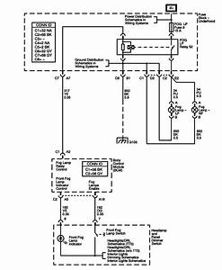 Wiring Diagram 2005 Colorado Fog Light