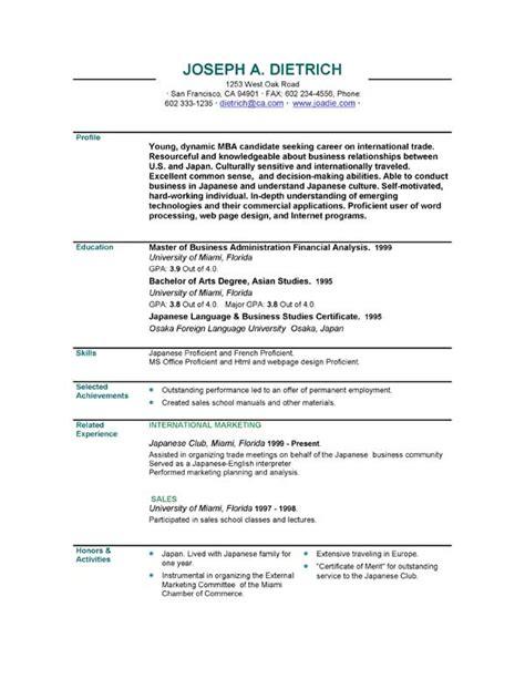 executive resumes executive resume sample templates