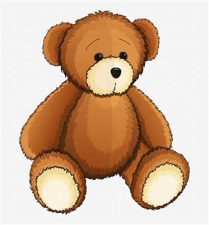 Teddy Bear Clip Clipart Bears Toy Brown