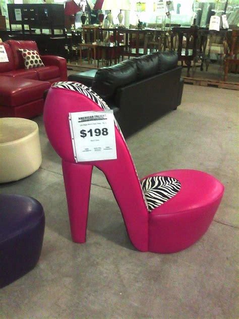 high heel chair cheap be the who lived in a shoe chair thejerp