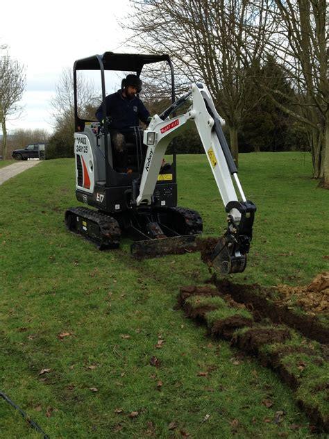 mini digger rental mini excavator rental kelsey plant hire