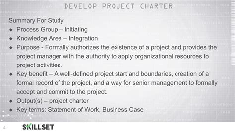 project charter   document issued   sponsor