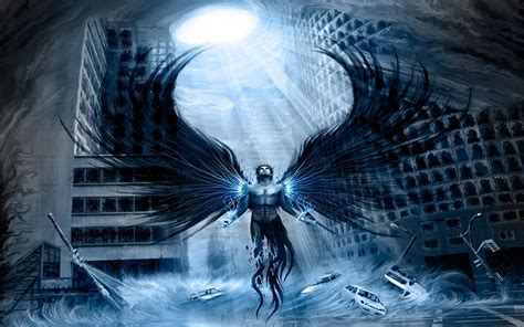 wallpaper collection   computer  mobile phones   scary angels wallpapers today