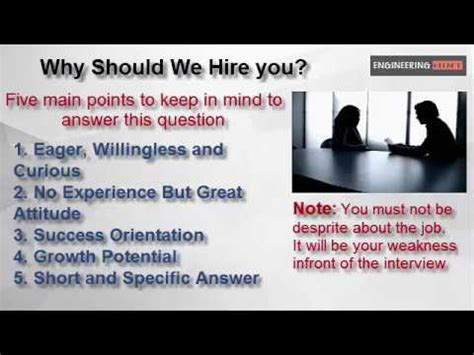 question why should we hire you best way to