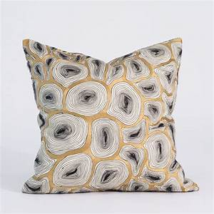 studio a agate black and gold pillow global views accent With black and gold accent pillows