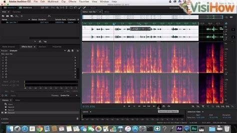 Record Using Adobe Audition Visihow