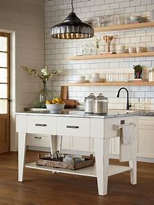 MAGNOLIA HOME - KITCHEN ISLAND - JO'S WHITE - Farmhouse