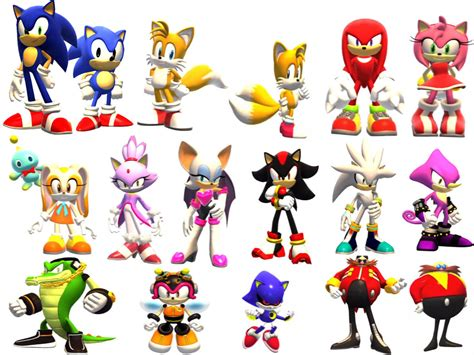 What Animals Are All These Sonic Characters Science