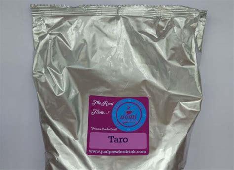 jual bubuk minuman rasa taro nomi powder drink