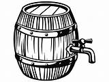 Barrel Keg Clipart Wine Tap Drawing Wooden Beer Pub Bar Svg Drink Tavern Vector Brewing Clipartmag Webstockreview Ale Liquor Letter sketch template