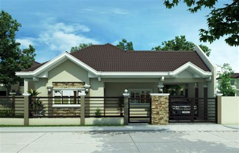 bungalow styles  plans  philippines bahay ofw philippines house design