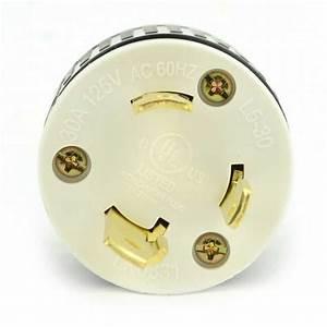 Superior Electric Yga024 Twist Lock Electrical Plug 3 Wire