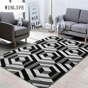 winlife zone tapis pour la maison salon anti slip chambre With tapis de sol salon moderne