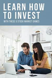 Learn How to Invest With These 5 Stock Market Games