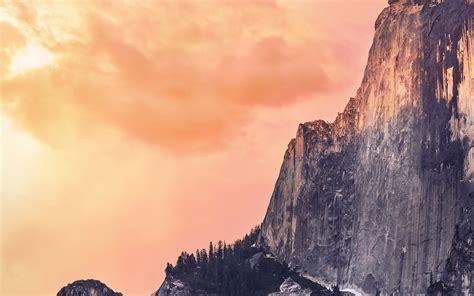 ae yosemite red sunset mac wallpaper os  wallpaper