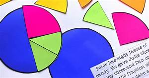 Using A Personal Pie Chart To Visualize Fractions  Freebie