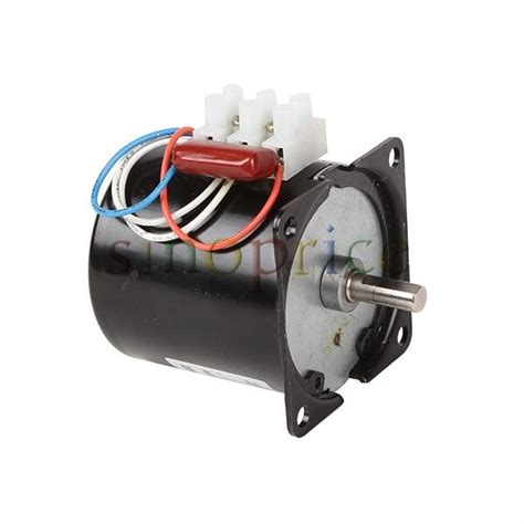 Synchronous Electric Motor by 220v Ac 60rpm High Torque Gear Box Synchronous Electric