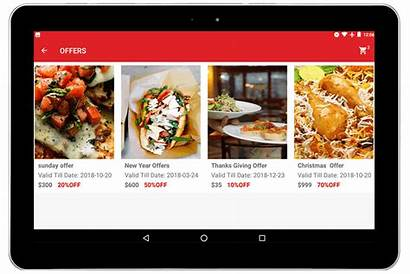 Restaurant Tablet App Order Taking Orders Development