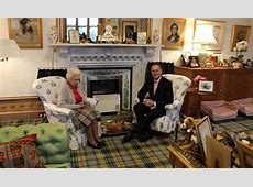 Inside The Queen's Balmoral sitting room and its baby
