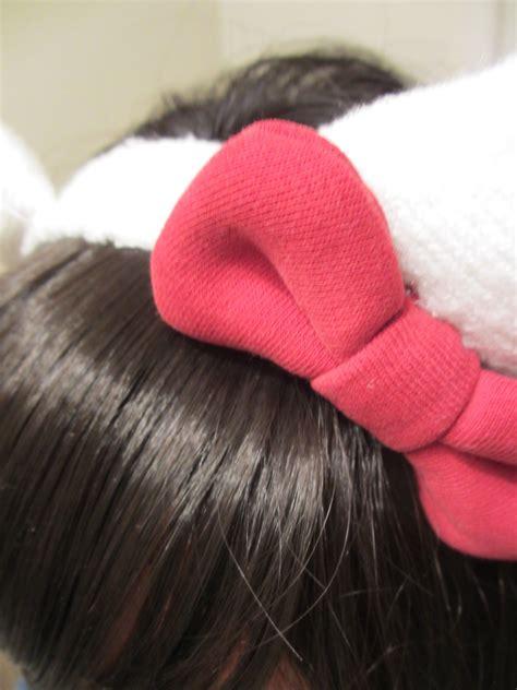 kitty ears headband     ear horn