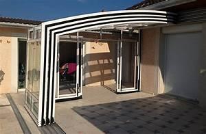 Abri De Terrasse Retractable : installations de v randas pergolas abris lamatec ~ Dailycaller-alerts.com Idées de Décoration