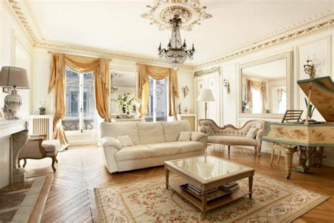 captivating french style living room designs