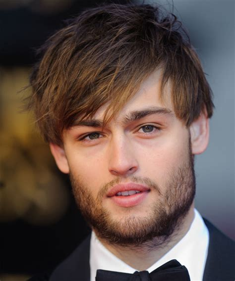 Douglas Booth Short Straight Casual Hairstyle   Medium