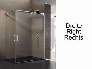 Porte Douche 90 : paroi de douche accessoires largeur 90 longueur 90 180 cm porte de douche coulissante avec 1 ~ Nature-et-papiers.com Idées de Décoration