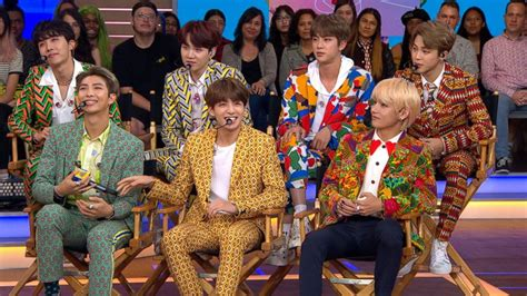 Bts Performs On 'gma' After History-making Un Speech