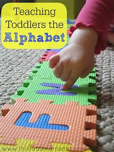 teaching toddlers the alphabet With teaching toddlers letters