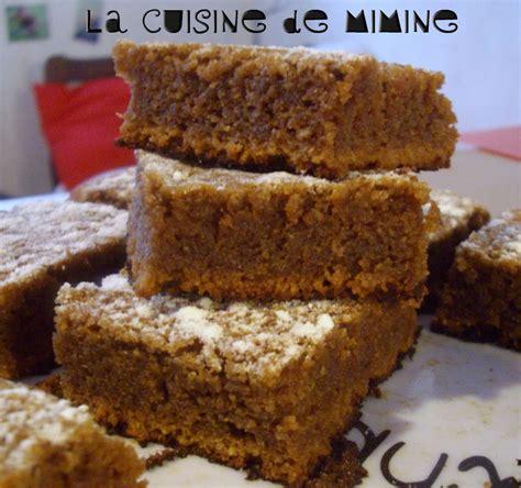 carr 233 s moelleux au chocolat pralin 233 pralinoise la cuisine de mimine