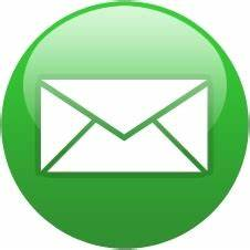 Green globe email Free icon in format for free download 22 ...