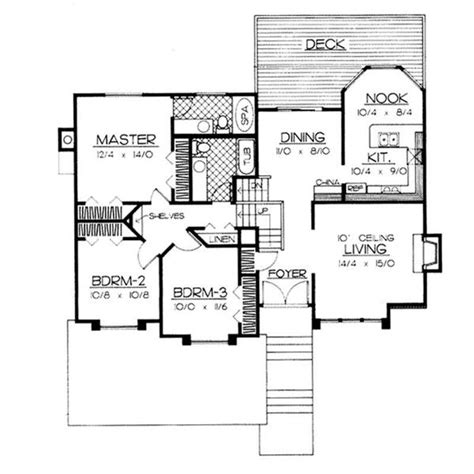 multi level house floor plans split level house designs the plan collection