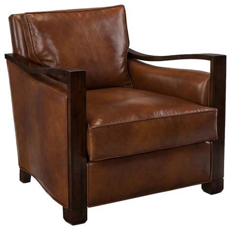 richard contour lounge caramel leather chair amf